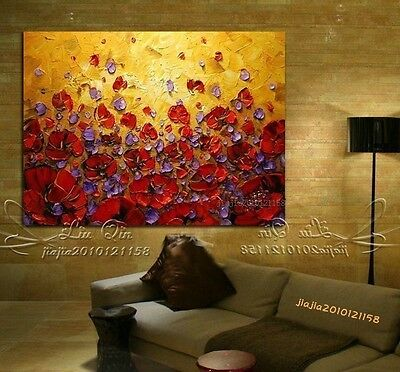 100% Pure Hand-painted Canvas Oil Painting /NO Frame L
