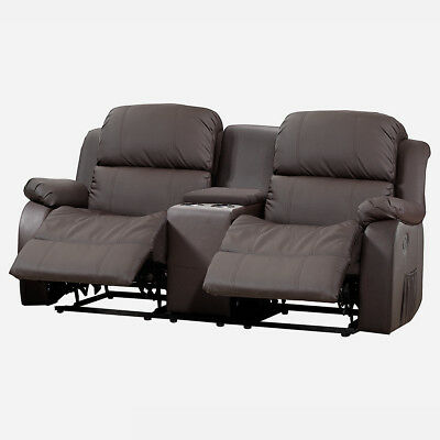 heimkino borkum home cinema 2 sitzer sofa mit tisch. Black Bedroom Furniture Sets. Home Design Ideas