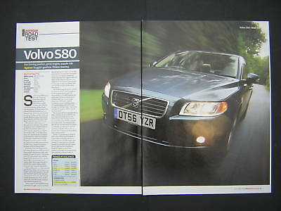 Volvo S80 3.2 SE Sport Road Test from 2006