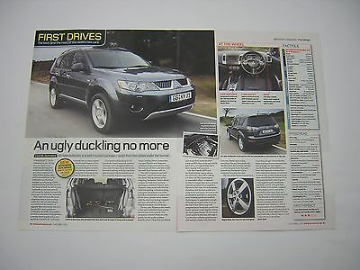 Mitsubishi Outlander - First Drive Road Test from 2006