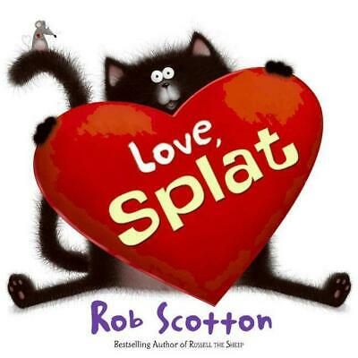 Love, Splat by Rob Scotton (English) Hardcover Book Free Shipping!