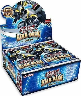 YU-GI-OH! STAR PACK 2014 Display BOX con 50 Buste in ITALIANO Nuovo YUGIOH
