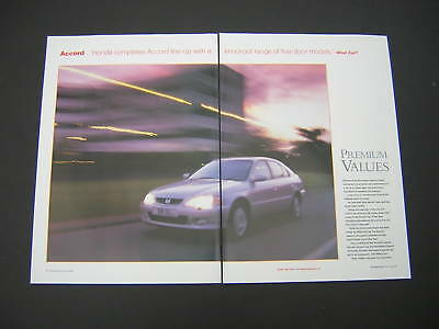 Honda Accord (16 Pages) Feature Advert 1999 - Original
