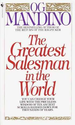 The Greatest Salesman In The World - Mandino, Og - New Paperback Book