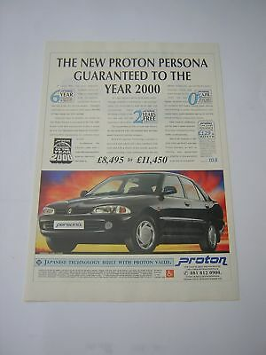 Proton Persona Advert from 1994 - Original