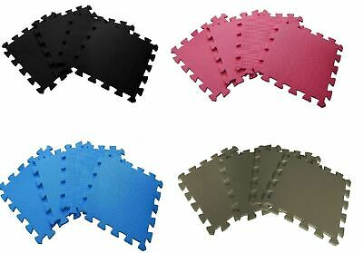 Waterproof Interlocking Soft Eva Foam Exercise Gym Sport Garage House Office Mat