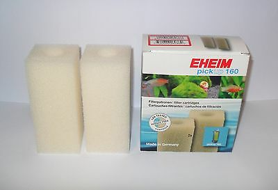 EHEIM 2617100 PICK UP 160 2010 Cartridge Foam x2  Aquarium Filter