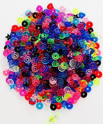 T#147 - 40pc UV Donuts for Tongue Rings