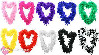 Feather Boa 65 Gram Hen Party Burlesque Fancy Dress Halloween Costume Acccessory