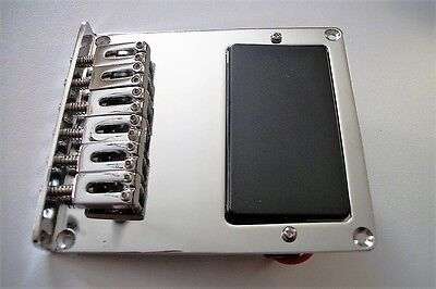 NEW Bridge + humbucker TELECASTER 6 saddles pour Fender ou autre tele