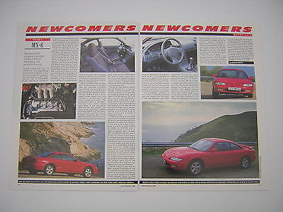 Mazda MX-6 Road Test article from 1992 - Original
