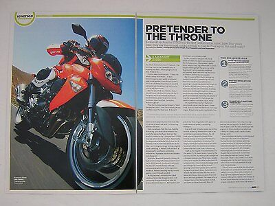 Kawasaki Z1000 First Ride Road Test article from 2007 - Original
