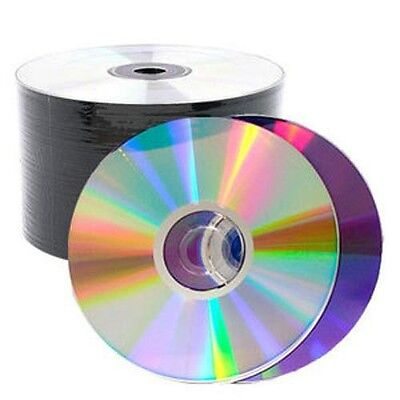 SPECIAL! 100 Pieces 16X Shiny Silver Top Blank DVD-R DVDR Disc Media 4.7GB