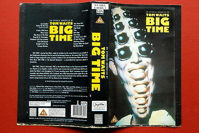 Tom Waits Big Time Rare Yugoslavian Vhs On Hard To Find Jugoton Label 1988