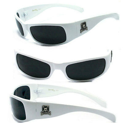 Word Free Pouch New Choppers Bikers Men Sunglasses C24 Silver