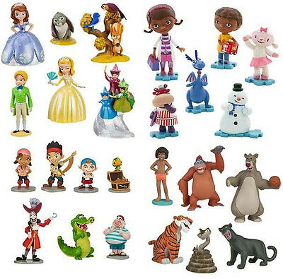 Disney Sofia the First Doc McStuffins Jake and Pirates Jungle Book Toy Set Toys