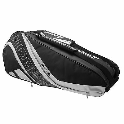 Babolat Team Line 6 (Six) Racket Tennis Bag  Black Silver  , Padel Or Travel