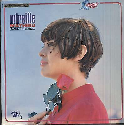 Mireille MATHIEU Made in France French LP BARCLAY 80352