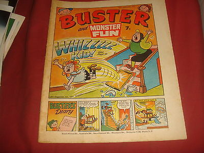 BUSTER AND MONSTER FUN COMIC  15th January 1977
