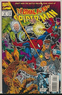 Lethal Foes of Spider-Man #4 (Dec 1993, Marvel) 1st Print FN-
