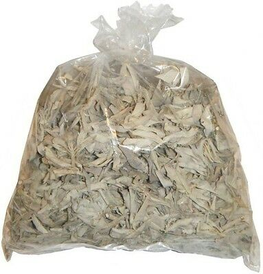 Loose California White Sage Smudge Leaves, Clusters 1 Pound 16 oz Cleansing 1lb