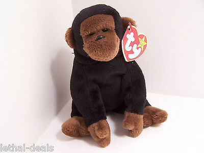 5c3e70bb69e TY BEANIE Baby Congo The Gorilla 1996 Retired and Schweetheart 1999 ...