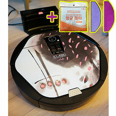 NEW iCLEBO ARTE YCR-M05-11 Intelligent Robot Vacuum Cleaner - Cherry +Catch mop