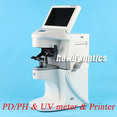 New Touch Screen Auto lensmeter Optical lensometer Power & PD measurement only