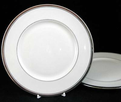 Franciscan HUNTINGTON 2 Salad Plates GREAT VALUE with some trim wear