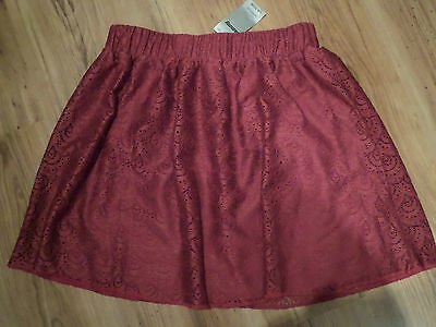 New With Tags Girls Lace Skater Skirt By Tammy Girl 12-13 Years