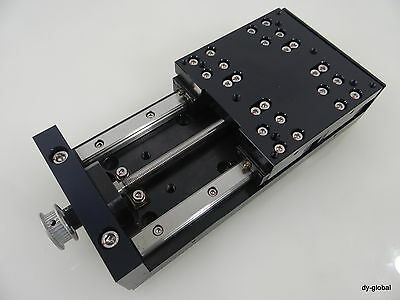 Precision Actuator 200mmX100mm Positioner Stage 80mm stroke LH12 NSK 0801 Screw