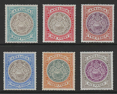 ANTIGUA 1903 SET TO 6d SG 31-36 MINT.