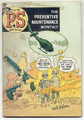 1969 Series PS The Preventive Maintenance Monthly Magazine Issue 195