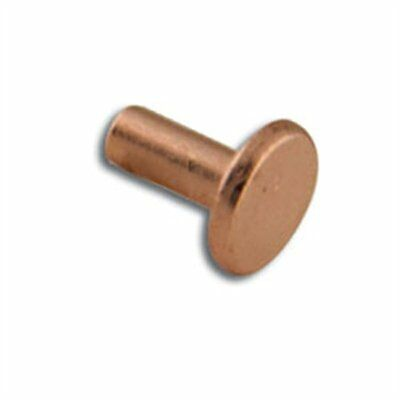 """5/16"""" Tubular Rivets 100 Pack Copper Plate 1294-53 by Tandy Leather"""