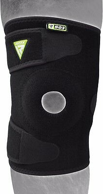 RDX Neoprene Knee Support Brace MMA Guard Pad Protector Gel Sports Work Foam Cap