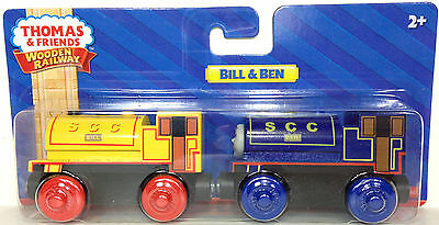 BILL & BEN Twins Thomas Tank Friends Wooden Railway NEW IN BOX