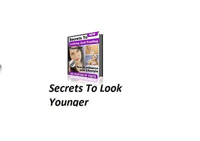 How  to Look And Feel Younger(ebook-pdf file)
