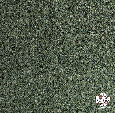 [McMats] Super Cheap! Used Commercial Green Pattern Carpet Tiles