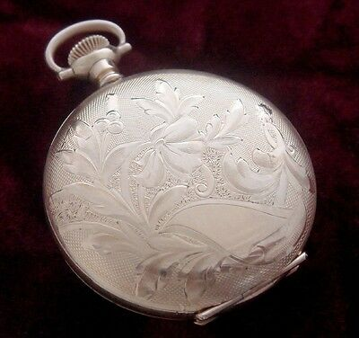 Old/Antique/Estate Ladies' Victorian, Art Nouveau Gold-Filled Pocket Watch Case