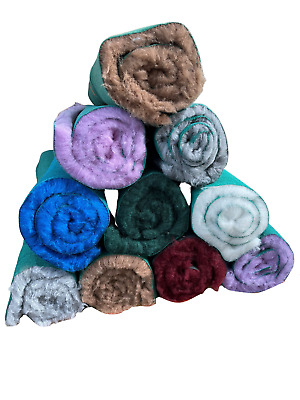 PET FLEECE bedding for whelping box bed MANY SIZES and COLOURS AVAILABLE Vet