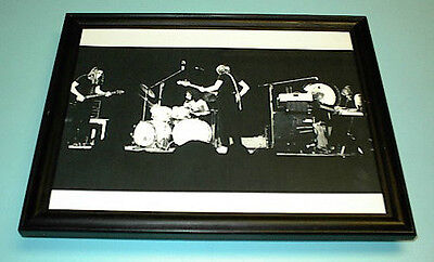 1980's PINK FLOYD FRAMED IN CONCERT B&W PRINT
