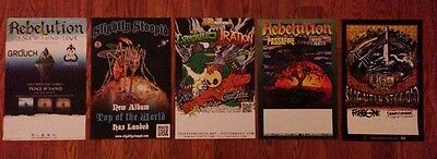 SLIGHTLY STOOPID | REBELUTION | EXPENDABLES | IRATION Ltd Ed Posters Collection