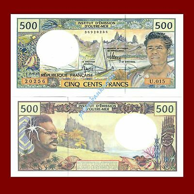 French Pacific Territories 500 Francs 1992 Unc.Pick.1 #