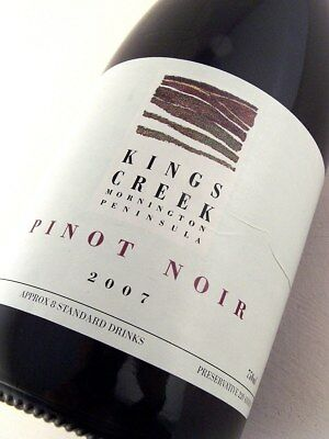 2007 KINGS CREEK Pinot Noir Isle of Wine
