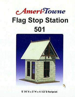 0/0-27:  Ameri-Towne  501:  Flag Stop Staion