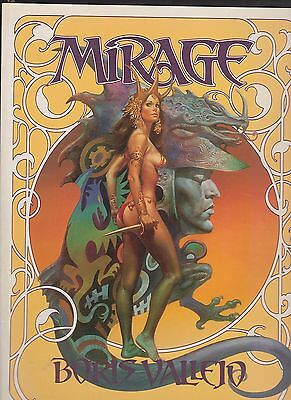 Mirage. de Boris VALLEJO. Thunder's Mouth Press 1996. EO. Etat neuf
