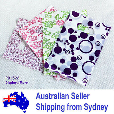 100 STRONG Reliable Plastic Jewellery Gift Bag-15x22cm | AUSSIE Seller