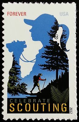 2012 45c Celebrate Scouting Scott 4691 Mint F/VF NH