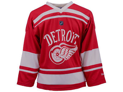 NHL Detroit Red Wings Youth Ice Hockey Shirt Jersey