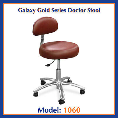 Galaxy 1060 Dental Round Seat Adjustable Doctor's Stool Chair